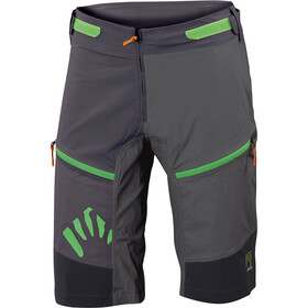 Karpos Rapid Short ample Homme, black/lead grey/dark grey